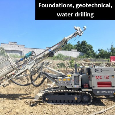 Foundations,geotechnical, water drilling