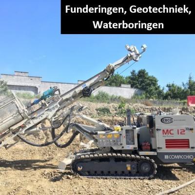 Fuderingen, Geotechniek,Waterboringen